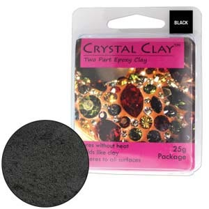 Crystal Clay Black 25 Gram