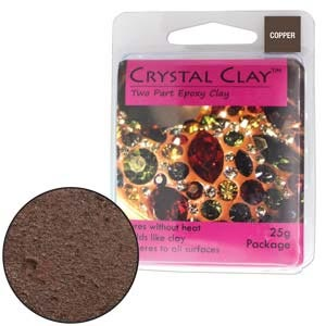 Crystal Clay Copper 25 Gram