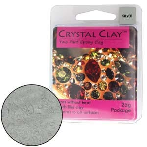 Crystal Clay Silver 25 Gram