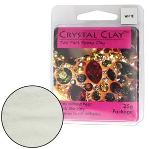 Crystal Clay White 25 Gram