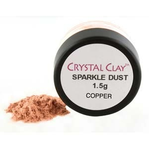 Mica Powder Sparkle Dust 1.5g pot - Copper