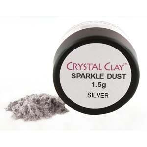 Mica Powder Sparkle Dust 1.5g pot - Silver