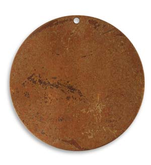 Vintaj Aristan Copper 33.5mm Metal Blank Circle x1