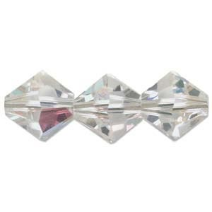Swarovski Crystal Beads Bicone 8mm Crystal AB
