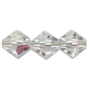 Swarovski Crystal Beads Bicone 8mm Crystal AB