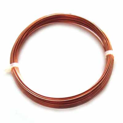 Copper Craft Wire 16g 1.25mm - 3 metres (anti-tarnish)