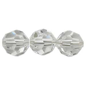 Swarovski Crystal Beads 8mm Round Crystal x1