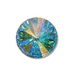 Swarovski Crystal 1122 Rivoli 18mm Crystal AB x1