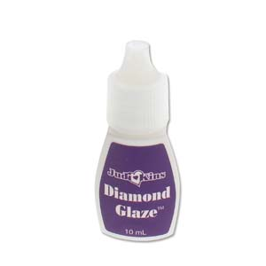 Judikins Diamond Glaze - Water-based Dimensional Adhesive Glue 10ml