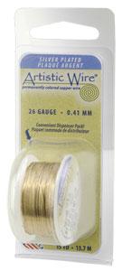 Artistic Wire 28ga Gold SP per 15 yd (13.7m) Dispenser Roll