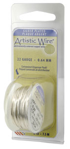 Artistic Wire 28ga Stainless Steel per 15 yd (13.7m) Dispenser Roll