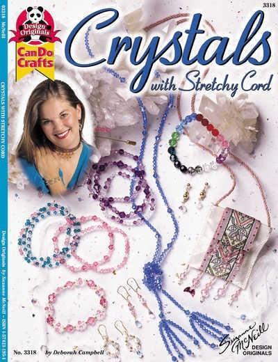 Crystals with Stretch Cord - Design Originals Book