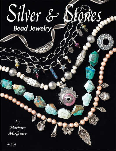 Silver & Stones, Bead Jewellery - Design Originals Book
