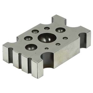 Flat Designer Metal Dapping Block with 22 depressions