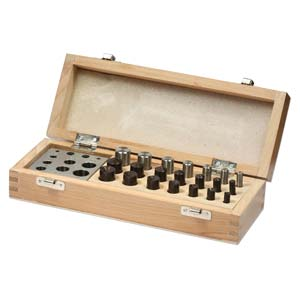 Delux 7 Disc Metal Blanks Cutting & Doming Set - Jewellers Tools