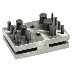 Disc Cutter Metal Blanks Cutting Set 14 Sizes - Jewellers Tools