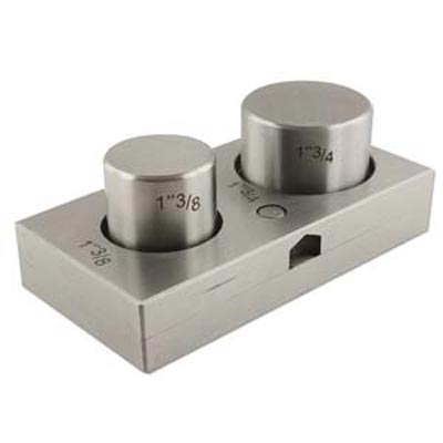 """Disc Cutter Jumbo Circles Cutting Set 1 3/8"""" (32mm) & 1 3/4""""(41mm)  - Jewellers Tools (Put in cart for price)"""