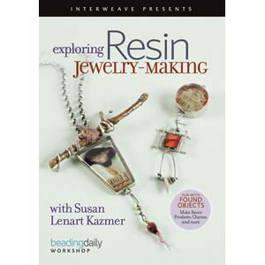 Exploring Resin Jewellery Making - Susan Lenart Kazmer DVD
