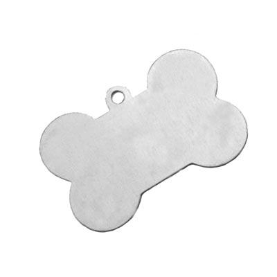 Aluminium Dog Bone 40.7x26.5mm 24g Stamping Blank x1