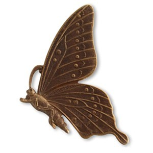 Brass VINTAJ - Natural - 46mm Butterfly Profile x1