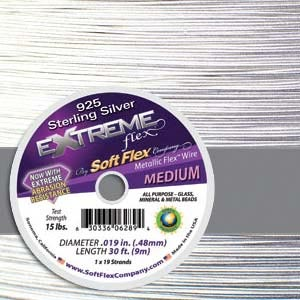 Extreme 925 Soft Flex 19 Strand Wire .014 10ft / 3.05m
