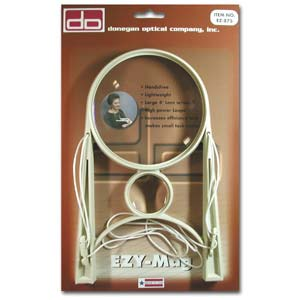 "Ezy Mag - Hands Free Magnifier (4"" lens)"