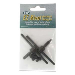 EZ-Rivet, 3/32 Rivet Punch & Flair Accessory Kit