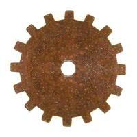 Trinity Brass Vintage Patina 19mm Gear x1
