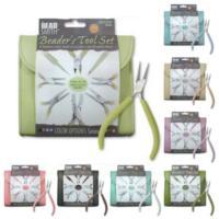 Beadsmith Fashion Colour - Plier Set in Leatherette Case
