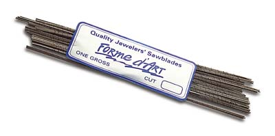 Saw Blades - Forme d'ART - Jewellers Tools x144 pack