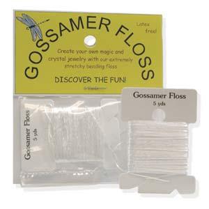 Gossamer Floss - Stretchy Beading String - 5yd