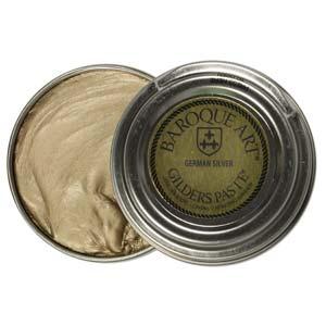 Gilders Paste 30 ml, 1.5 oz metal finishing wax, German Silver