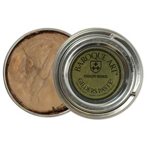 Gilders Paste - 30 ml - 1.5 oz - Foundry Bronze