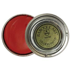 Gilders Paste 30 ml - 1.5 oz Tulip Red