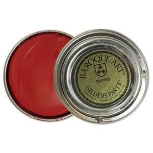 Gilders Paste 30 ml - 1.5 oz Tulip Red