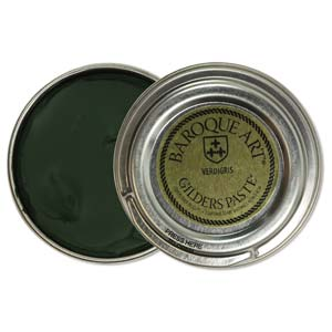 Gilders Paste - 30 ml - 1.5 oz - Verdigris (Dark Green)