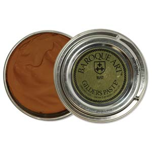 Gilders Paste 30 ml - 1.5 oz Rust