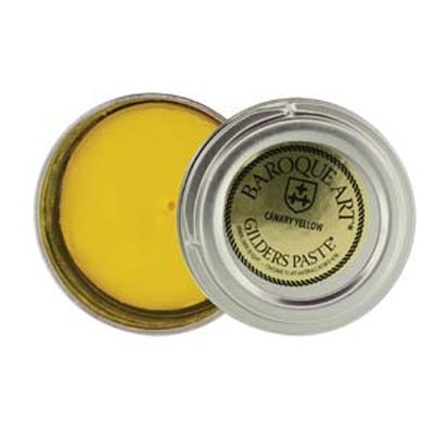 Gilders Paste - 30 ml - 1.5 oz - Canary Yellow (Damaged Tin)