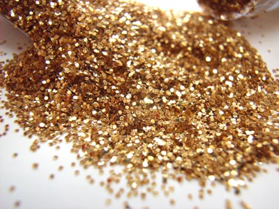 Large JB Glitter Tube 18g - Gold