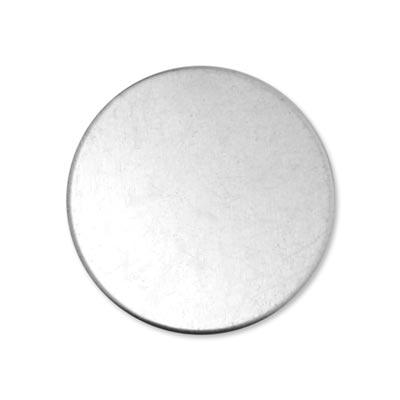Alkemé Silver Soft Strike Circle 38mm 1 1/2 inch 18g Stamping Blank x1