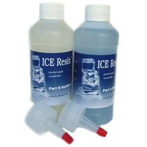ICE Resin - Jewellers Grade Crystal Clear Epoxy Doming Resin 32oz 960ml Bulk Pack