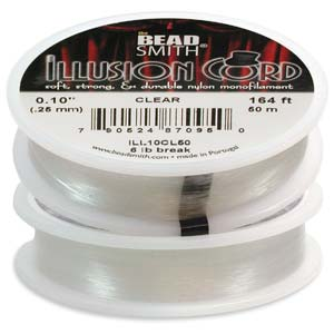 Beadsmith Illusion Cord Monofilament .010 - Clear - 50m