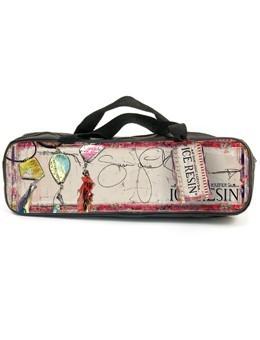 Ice Resin, Oblong Designer Accessory Bag