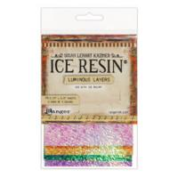ICE Resin® Foil Sheets, Mardi Gras, 10 sheets.