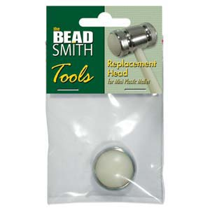 Beadsmith Replacement Head for Dual Head Mini Plastic / Metal Mallet x1