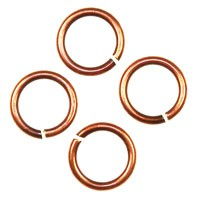 Trinity Brass Antique Copper Jump Ring 6mm 20g x10