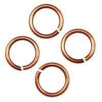 Trinity Brass Antique Copper Jump Ring 6mm 20g x10