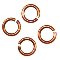 Trinity Brass Antique Copper Jump Ring 4.5mm x10