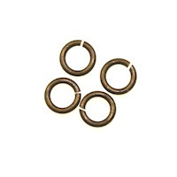 Trinity Brass Vintage Patina Jump Ring 4.5mm x10