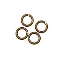 Trinity Brass Vintage Patina Jump Ring 4.5mm x10